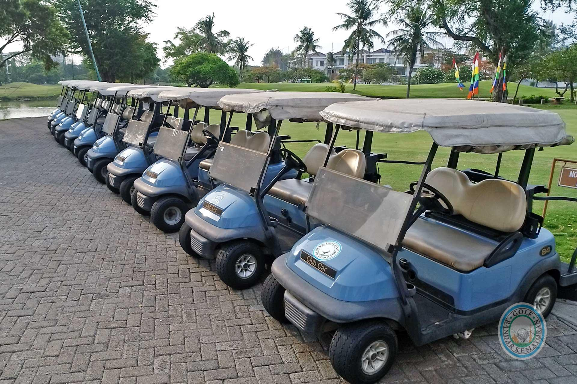 Golf Bandar Kemayoran Golf Car